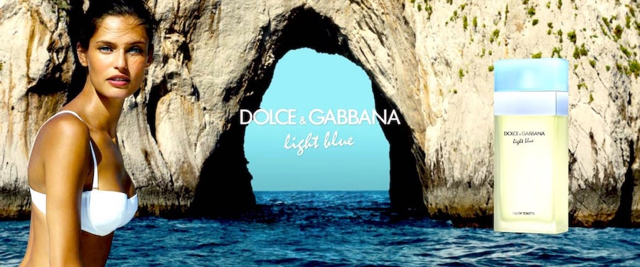 Dolce & Gabbana Light Blue ad.