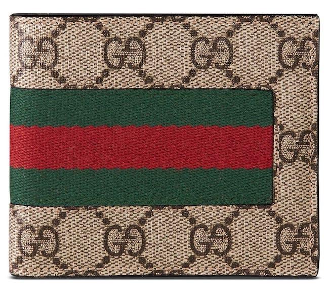 Gucci Supreme Wallet - Valentine's gift idea for men - northpolestar.com