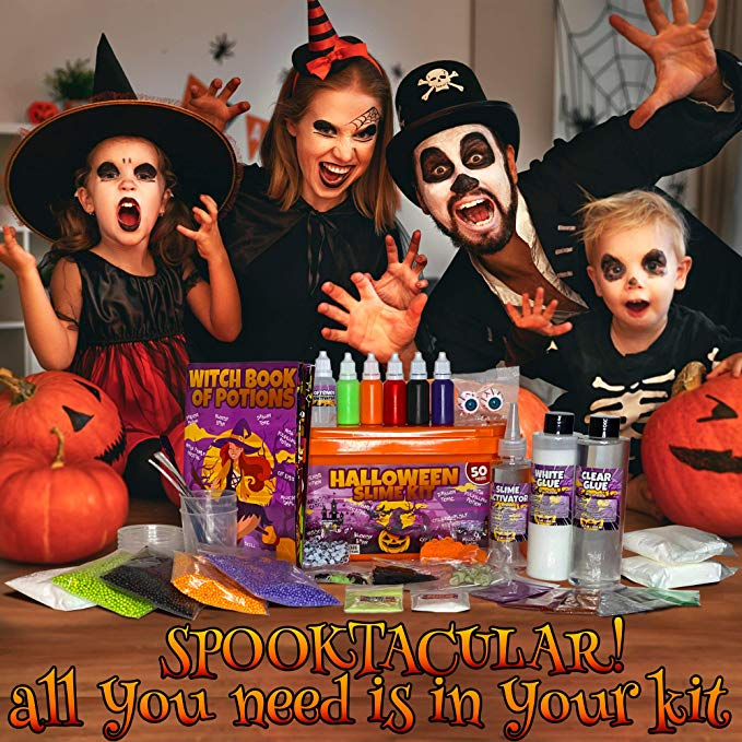 Halloween Slime Kit for Girls and Boys