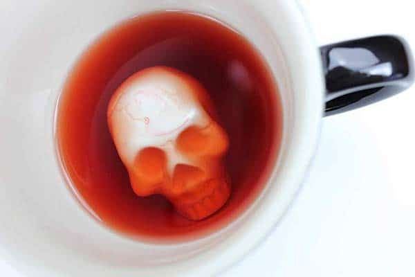 Halloween gift idea for boyfriend - creepy cup. www.northpolestar.com