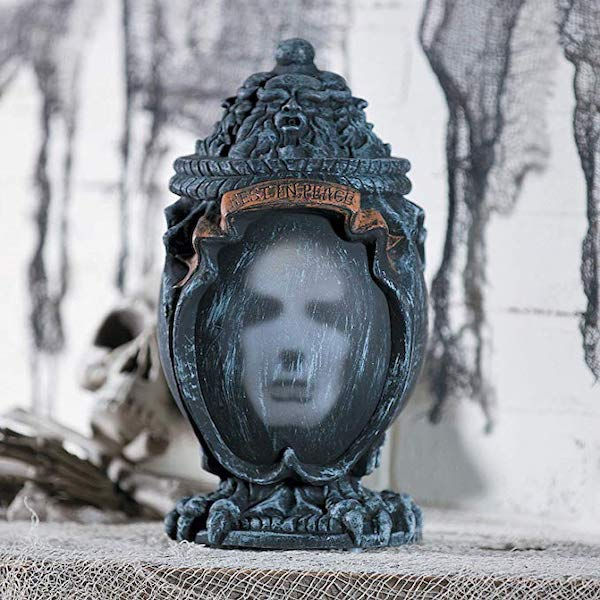 Haunted Ash Urn (motion activated) Animated Halloween Decorations