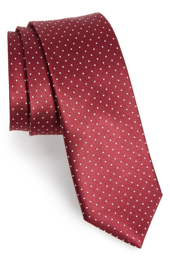 The Tie Bar Dot Silk Tie. gift for men idea northpolestar.com