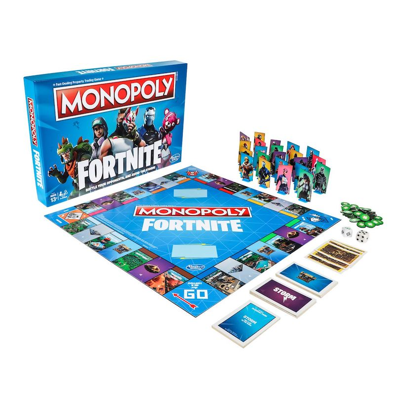 Monopoly Fortnite Board Game for gamers gift