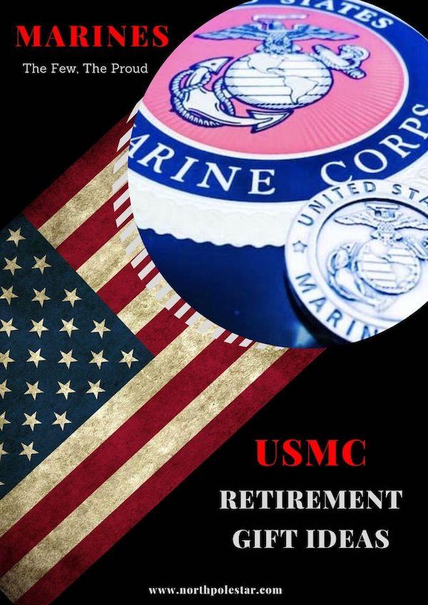 Unique USMC Retirement Gift Ideas| Gift guide | www. northpolestar.com