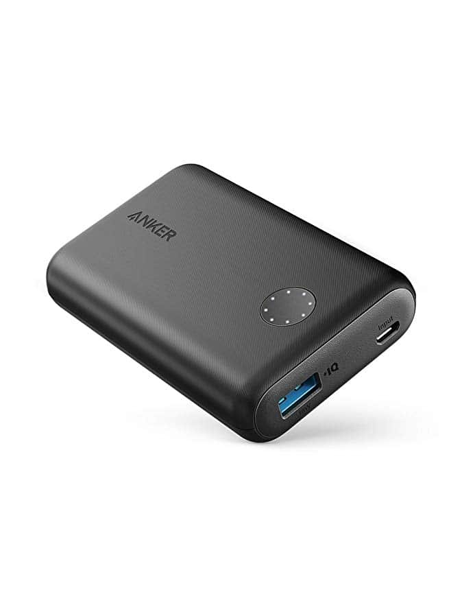 Ultra-Compact Anker Powercore II 10000mAh Portable Charger for travelers