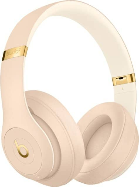 Beats by Dr. Dre - Beats Studio³ Wireless Noise Canceling Headphones - Beats Skyline Collection - Desert Sand