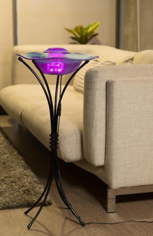 Floor Mist Fountain/Aroma Diffuser With Inline Control Christmas gift for her