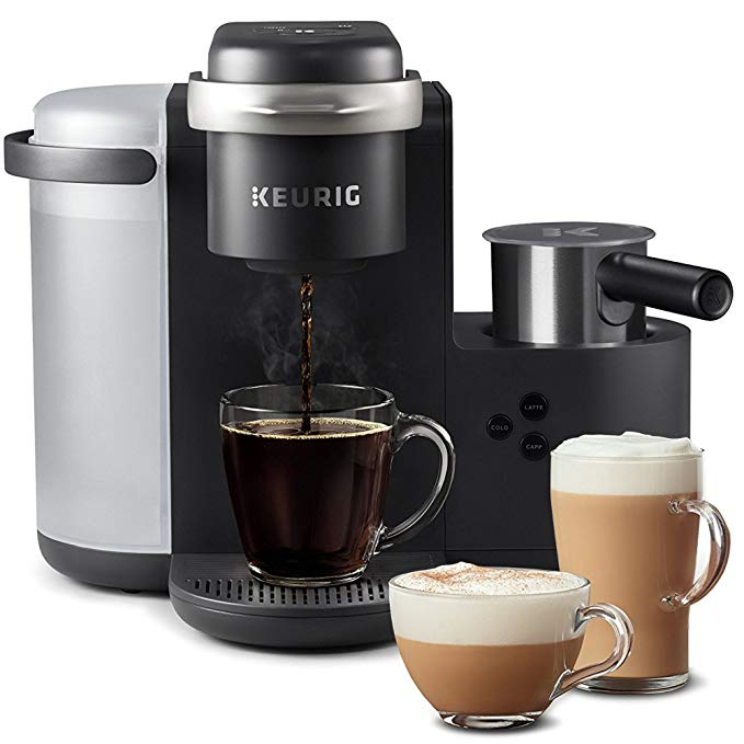 Keurig K-Cafe Coffee Maker, Single Serve K-Cup Pod Coffee, Latte and Cappuccino Maker gift