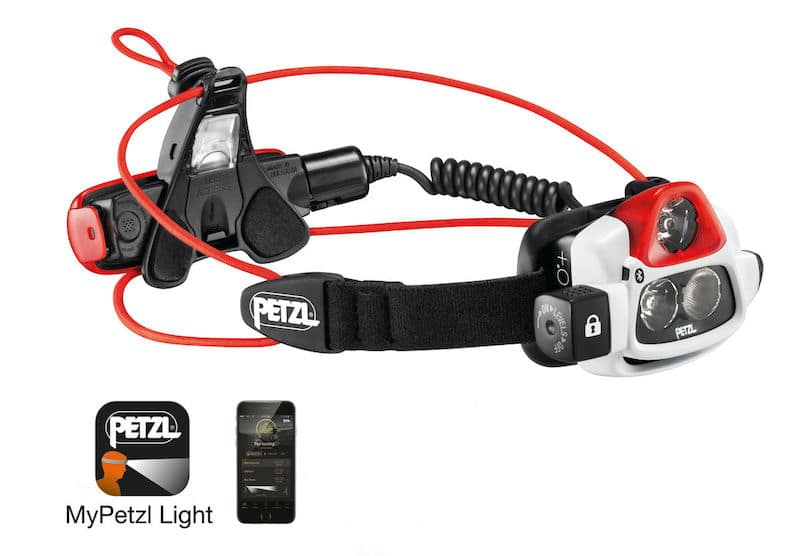 PETZL NAO+ Ultra-powerful, multi-beam, programmable, rechargeable headlamp