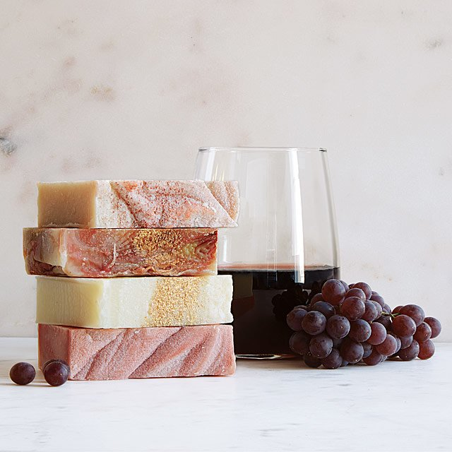 Wine Soap Christmas Gift ideas for her