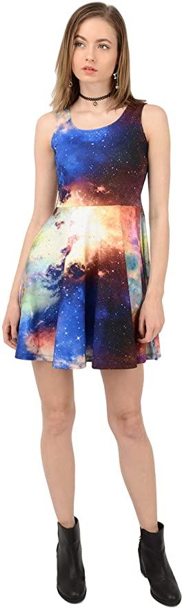 CowCow Galaxy Women's Dress