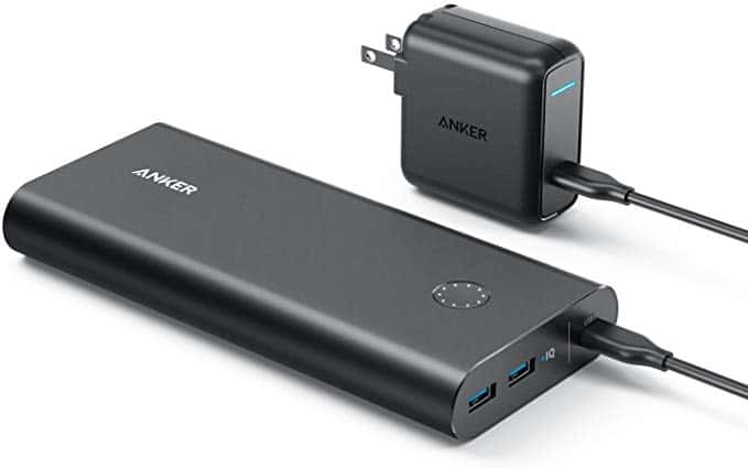 Anker PowerCore+ 26800 PD with 30W Power Delivery Charger Gift idea for flight attendant and flight crew, frequent flyer passengers and travelers