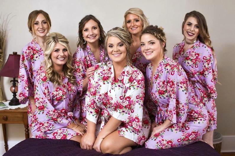 Floral Cotton Robes
