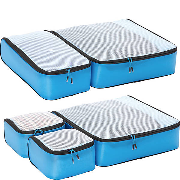 Hyper-Lite Packing Cubes - Super Packer 5pc Set gift idea for flight attendants , flight crew