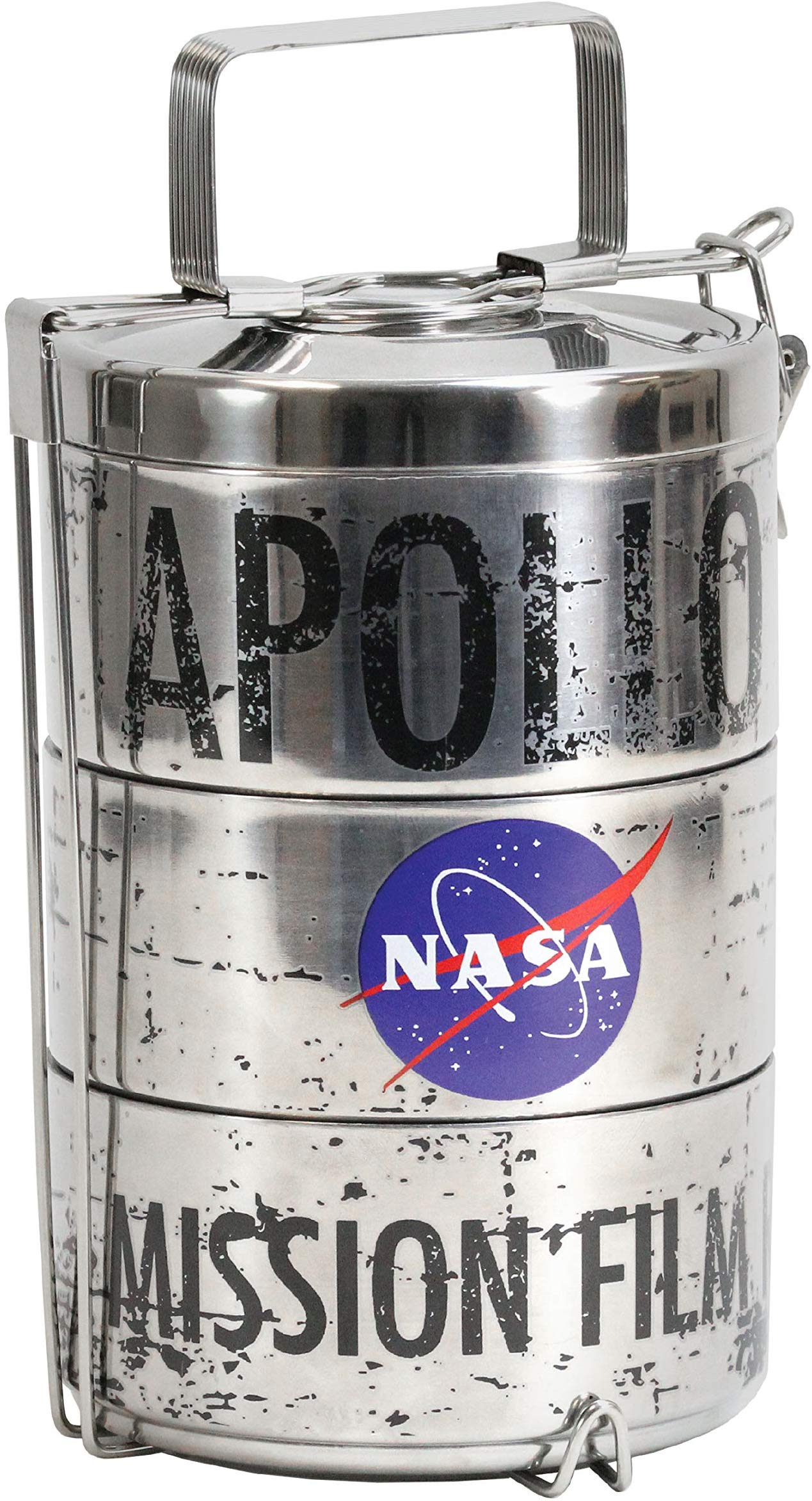 NASA Apollo Moon Landing Film Canister Lunch Tins - NASO520