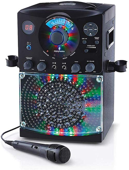 Singing Machine SML385BTBK Bluetooth Karaoke System