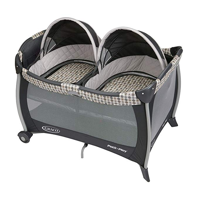 Graco Pack 'n Play Playard with Bassinet for Twins, Vance