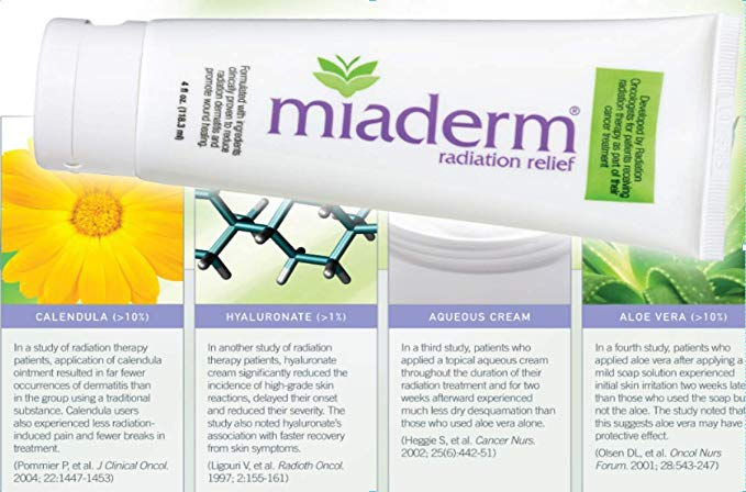 Miaderm Radiation Relief Lotion