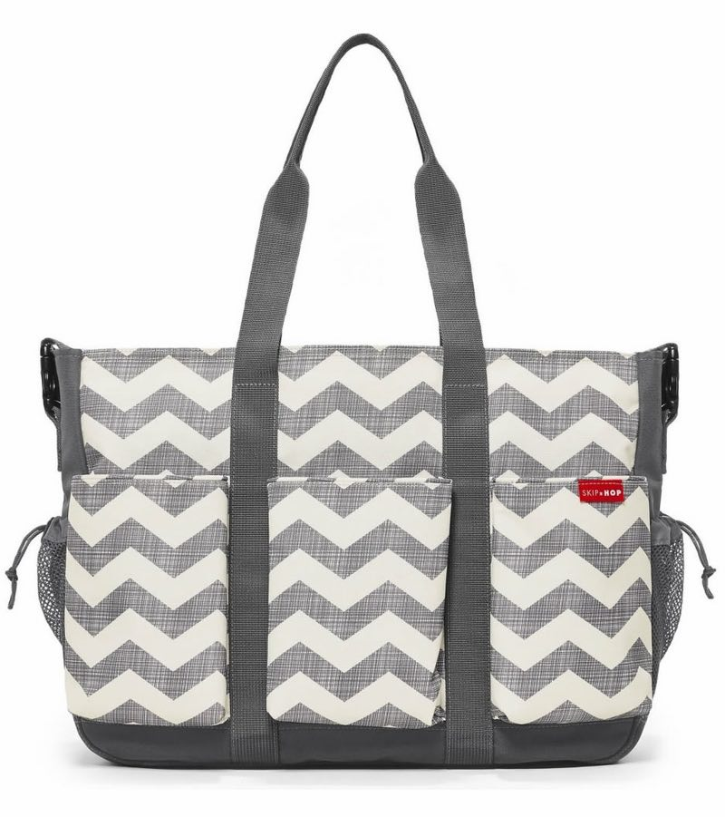 Skip Hop Duo Double Diaper Bag - Chevron twins mom gift idea