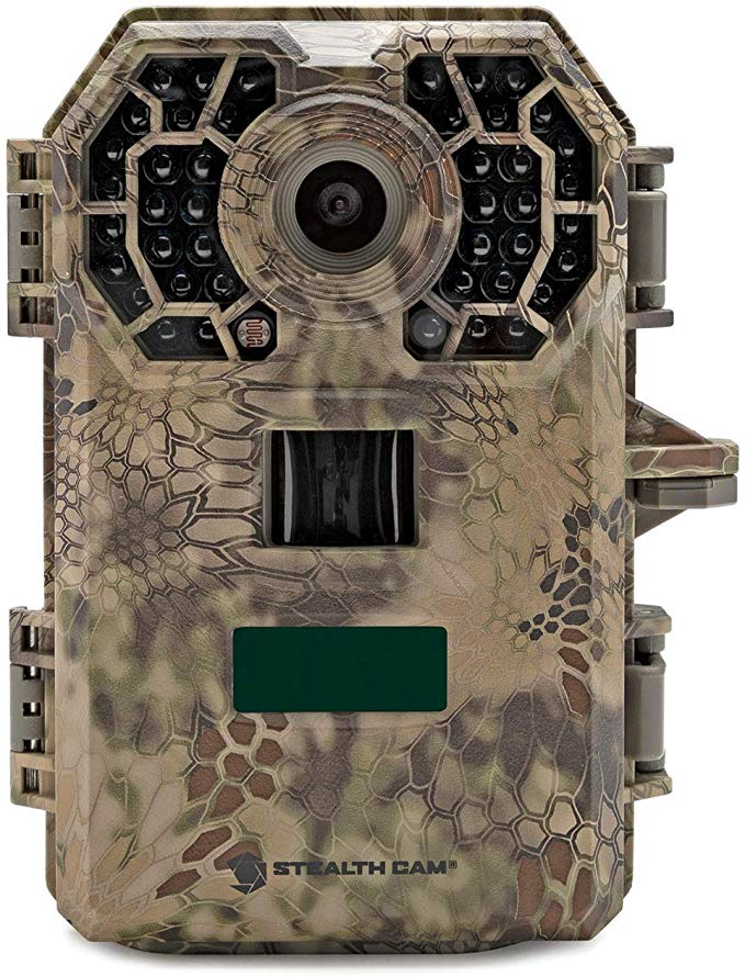 Stealth Cam G42NG No-Glow Trail Game Camera, 24MP, Fast Trigger Speed with Burst Mode, Shoots HD Video