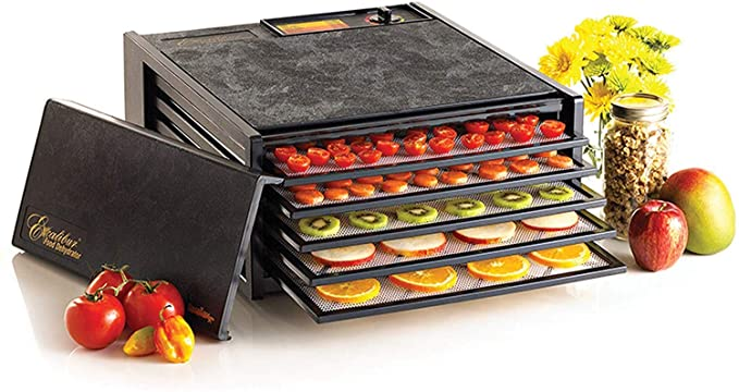 Excalibur 3500B 5-Tray Electric Food Dehydrator with Adjustable Thermostat