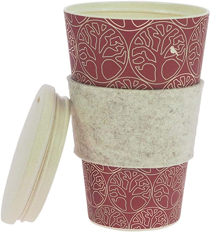 ebos lucky charm Coffee-to-Go mug bamboo