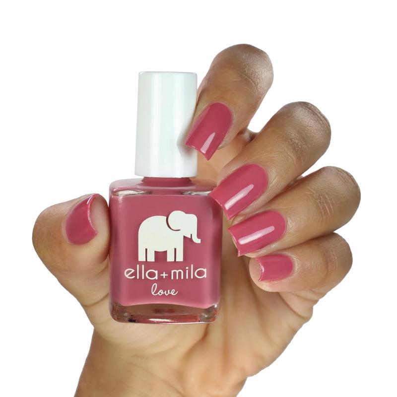 ella + mila berry much in love nail polish