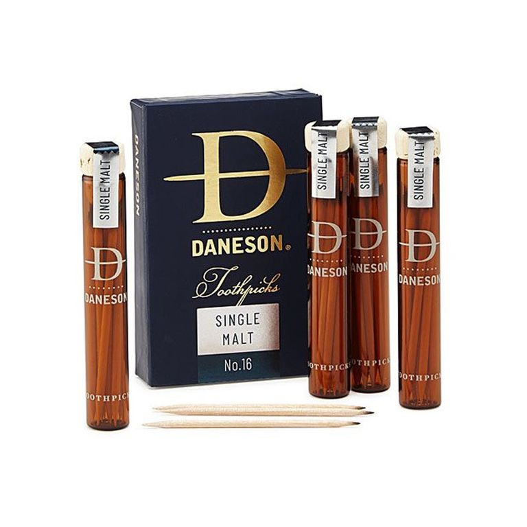 Daneson Scotch-Infused Toothpicks Gift Set