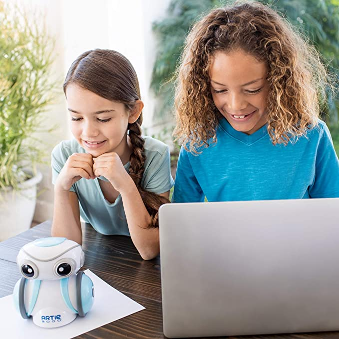 Educational Insights Artie 3000 The Coding Robot: STEM Toy, Coding Robot for Kids 7+