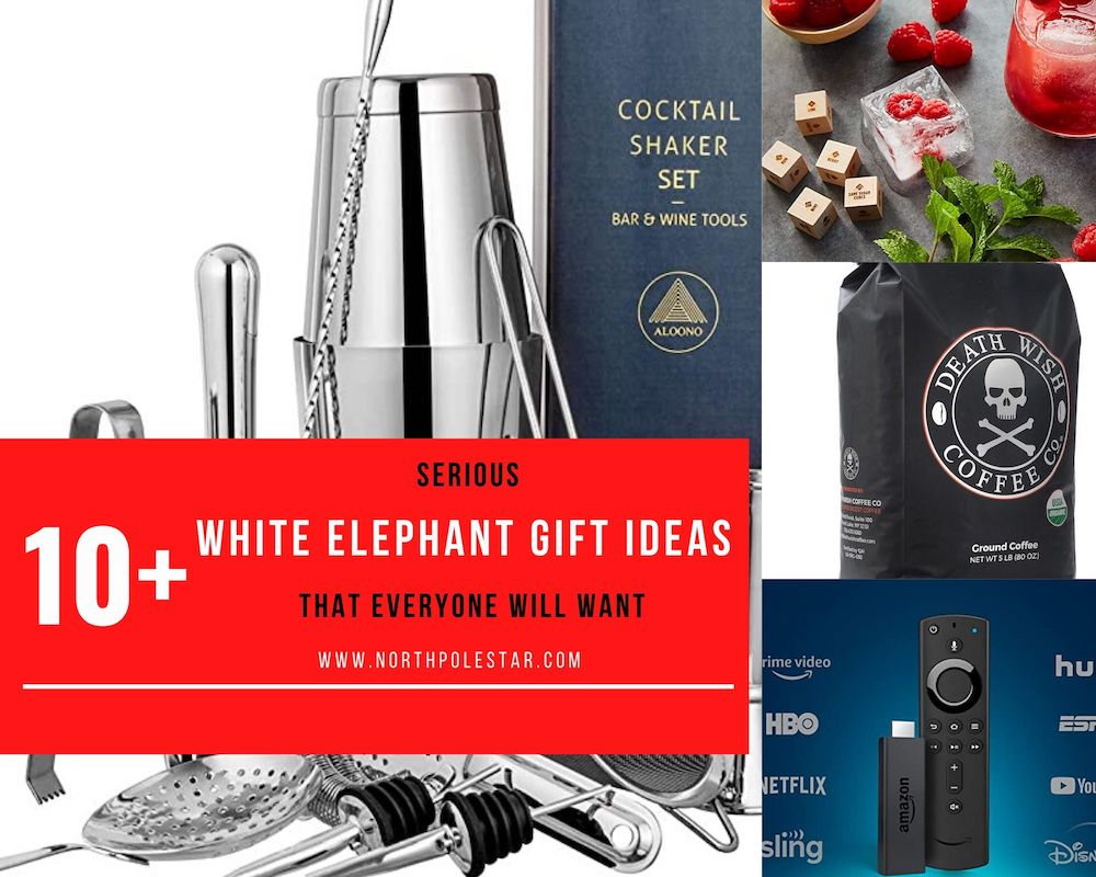 10+ Serious White Elephant Gift Ideas | www.northpolestar.com