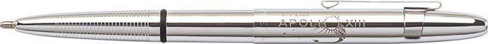 APOLLO 13 50th anniversary chrome bullet space pen w/ chrome clip