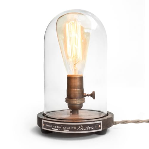 Huckberry The Original Bell Jar Table Lamp Decor Gift Ideas