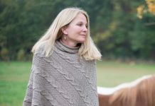 IN2GREEN Eco Chunky Cable Poncho
