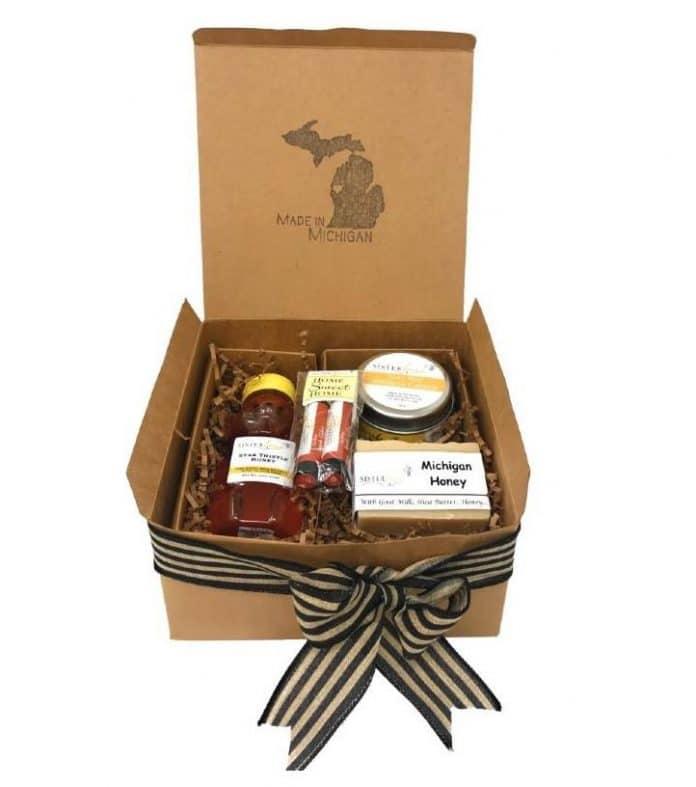 Sister Bees Michigan Bee Gift Set