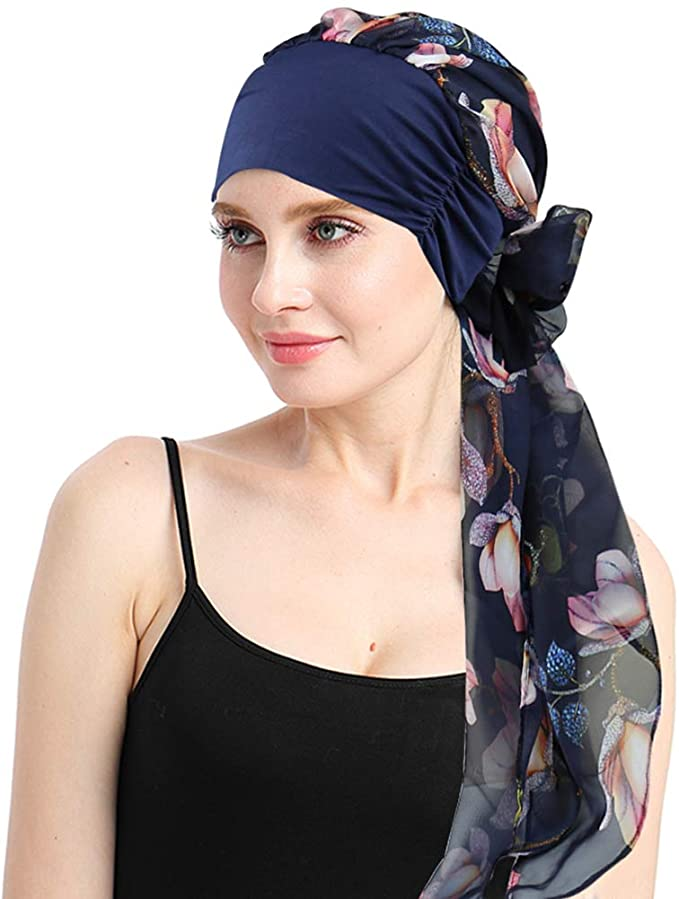 FocusCare Chemo Headwear Turbans for Women _ gifts for cancer patients