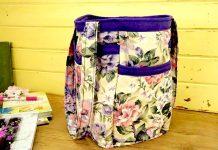 Leora's Handmade Floral Tote Bag - Etsy