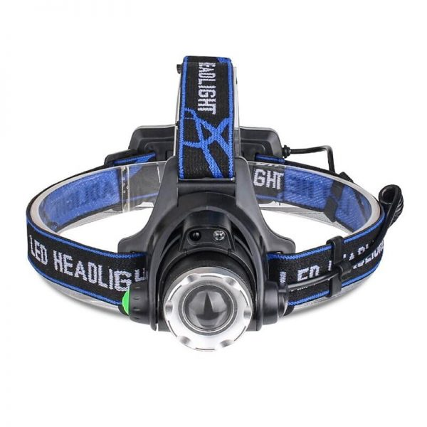 4-Mode Zoomable Waterproof LED Headlamp for Fishing / Camping