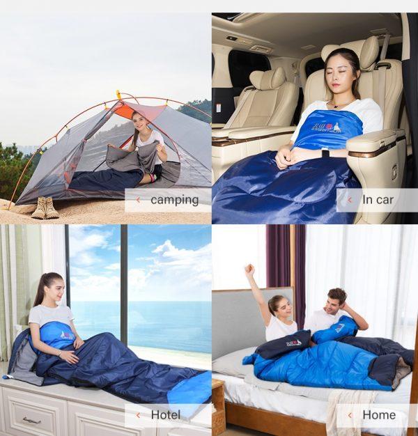 BSWOLF Ultralight winter Waterproof 4 Season Camping Sleeping Bag