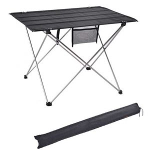 Ultralight Portable Foldable Table with carry Bag for Camping Outdoor, Picnic, Indoor, Office – 6061 Aluminium Alloy Light Folding Desk