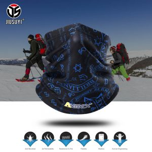 Winter Thermal Fleece Neck Gaiter Tube Scarf Warm Bandana Face Snowboard Half Face Cover Headband Men Women Fashion Scarf