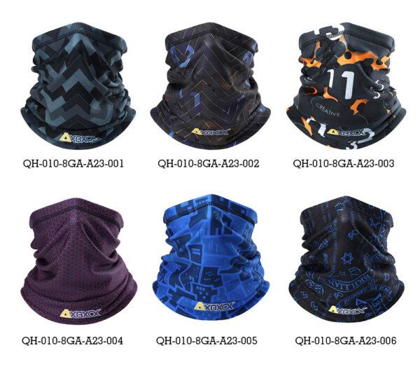 Winter Thermal Fleece Neck Gaiter Tube Scarf Warm Bandana Face Snowboard Half Face Cover Headband Men Women Fashion Scarf