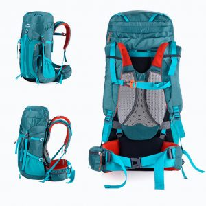 Naturehike Unisex rainproof 55L/65L Sport Professional Backpack with Suspension System for Hiking, Trekking, Climbing