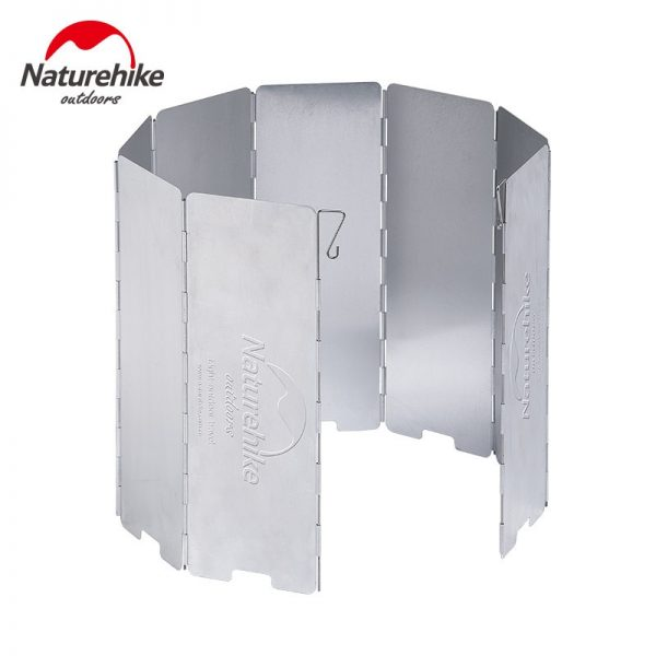 8 Plates Foldable Camp Stove Windscreen Windshield