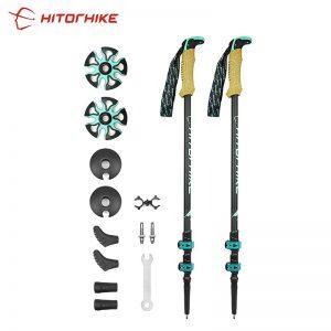 HITORHIKE Carbon Fiber Trekking Poles/Sticks