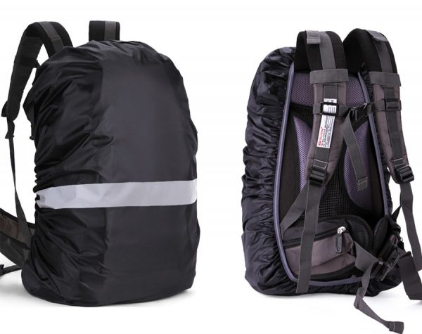 Reflective Waterproof Backpack Rain Cover for (20-60L)