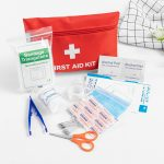 Shop 12 Types Emergency Survival Kit Mini Family First Aid Kit - Waterproof Medical Bag for Backpacking, Camping, Hiking, Sport, Travel, Home, Outdoor, Car