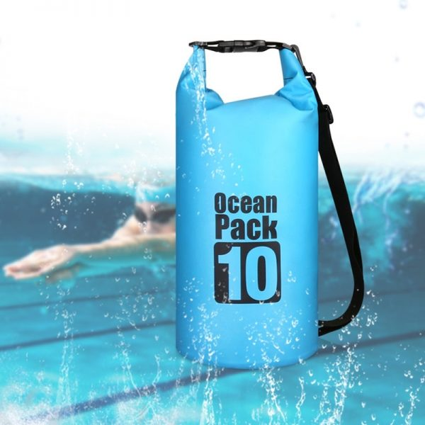 Waterproof Dry Bag Backpack 10L/15L/20L/30L Floating LightweightWaterproofDry Storage Sack for Boating, Kayaking, Fishing, Rafting, Beach, Swimming, Floating and Camping, Gifts for Men and Women