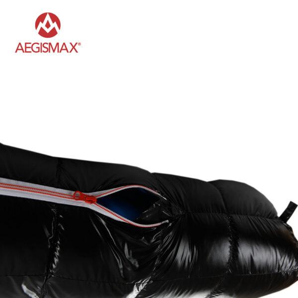 AEGISMAX 95% White Goose Down Sleeping Bag (-22° F to 30° F)