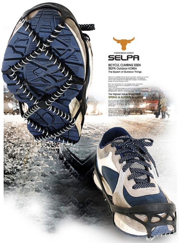Non Slip Pro Traction Cleats for Walking, Jogging or Hiking on Snow and Ice - Ice Cleats, Traction Cleats Grippers
