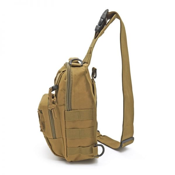 DaypackSling Backpack Crossbody Chest PackSports Climbing Shoulder Bags Tactical Military Daypack for Trekking Camping Hiking Camping Hunting Fishing Outdoor